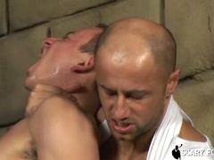 Roberto pumps Nico's dick and get pounded deep in his hole !. Posted by: Scary Fuckers