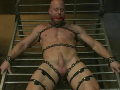 Muscle Stud and the Electric Ball Crusher. Posted by: Bound Gods