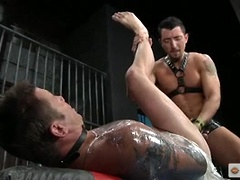 Durano leaves a handprint on Wyson's ass and fucks him hard!. Posted by: Hot House Backroom