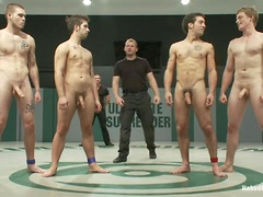 Hayden Russo and Jake Austin vs. DJ and Brandon Bangs  The Tag Team Match. Posted by: Naked Kombat