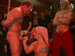 Live Shoot: It's the best Xmas Party ever!!!. Posted by: Bound in Public