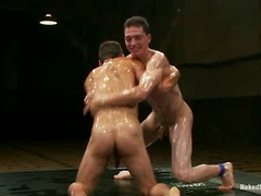 DJ vs Martin Lorenzo  The Oil Match. Posted by: Naked Kombat