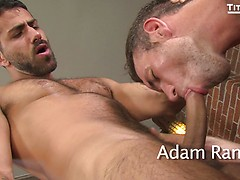 2 Men Kiss: Alex Mecum and Adam Ramzi. Posted by: TitanMen