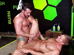 Jimmy Durano & Landon Mycles - Crossfit fuck. Posted by: Hot House Backroom