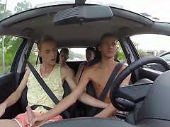 Four Horny Dudes Take The Drive Of Their Lives For Hard Cock! 1. Posted by: Staxus