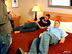 Jeremiah Films His Own Threesome! - Christian Taylor, Devin Lee Scott &Jeremiah. Posted by: HomoEmo